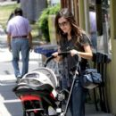 Rachel Bilson Plays With a Friend's Baby