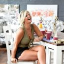 Kerry Katona – Working in a Furniture Shop in Warrington - 454 x 649