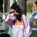 Vanessa Hudgens is spotted out and about in Studio City, California on March 29, 2017