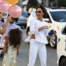 Melanie Brown – Celebrate's her daughter Angel Iris birthday in West Hollywood