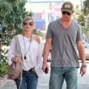 Chris Hemsworth And Elsa Pataky Go Hand-In-Hand