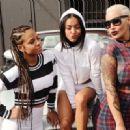 Amber Rose, Karrueche, Christina Milian, and Vanessa Simmons Participate in the Shift to Coachella Event in Los Angeles, California - April 10, 2015 - 454 x 330