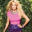 Carrie Underwood is on the cover of the July issue of ELLE Canada to promote her new album, Blown Away