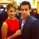 Dianna Agron and Christian Cooke