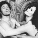 Martine Beswick and Franco Franchi