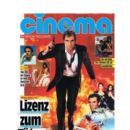Timothy Dalton - Cinema Magazine Cover [West Germany] (August 1989)
