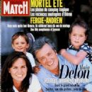 Alain Delon - Paris Match Magazine Cover [France] (August 1996)