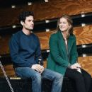 Penn Badgley and Elizabeth Lail