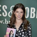Anna Kendrick at Barnes and Noble to promote her new book 'Scrapy Little Nobody' in NYC - 454 x 660