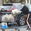 Anna Faris – Grocery shopping at Gelson's Market in Pacific Palisades - 454 x 303