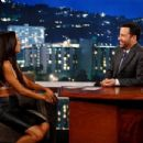 Naya Rivera at 'Jimmy Kimmel Live!' (July 2013)
