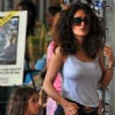 Salma Hayek: Easter in Miami