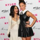 Vanessa Hudgens attends Nylon Magazine 12th Anniversary Issue Party with the Sucker Punch cast at Tru Hollywood on March 24, 2011 in Hollywood