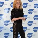 Kylie Minogue wears Stella McCartney -Glaceau Smart Water Photocall