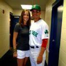 Jacoby Ellsbury and Kelsey Hawkins