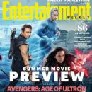 Aaron Taylor-Johnson, Elizabeth Olsen - Entertainment Weekly Magazine Cover [United States] (19 April 2015)