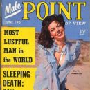 Marlee Sanderson - Male Point Magazine Cover [United States] (June 1957)