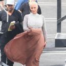 Amber Rose at the 'Dancing With The Stars' studios for taping in Hollywood, California - September 12, 2016 - 432 x 600