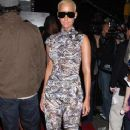 Amber Rose Attends The Cinema Society and Target Screening of