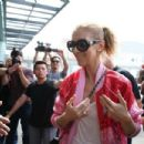 Celine Dion – Arrives at Taipei Songshan Airport in Taipei - 454 x 303