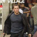 Matt Damon, The Bourne Ultimatum - Village Times Magazine Cover [Greece] (4 October 2007)