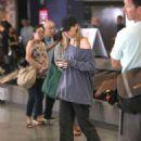 Suki Waterhouse – Arrives at LAX International Airport in LA