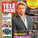 Simon Baker - Tele Poche Magazine Cover [France] (22 August 2015)