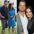 Courteney Cox and Brian Van Holt