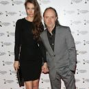 Lars Ulrich and Jessica Miller attend the Creative Arts Awards on January 28, 2014 in Burbank,CA