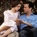 Tom Hanks and Cristina Marsillach