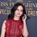 Eva Green attending the New York premiere of 'Miss Peregrine's Home for Peculiar Children' held at Saks Fifth Avenue in New York City, United States - Monday 26th September 2016 - 454 x 566