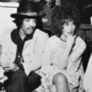 Jimi Hendrix and Kathy Etchingham  with Brian Jones,London Jan 1968-Grapefruit launch party, Hanover Grand Hotel - 454 x 646