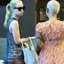 Amber Rose and Iggy Azalea at Nail Garden in Hollywood, California - October 13, 2014 - 454 x 660