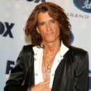Joe Perry poses in the press room during the American Idol Season 6 Finale held at the Kodak Theatre on May 23, 2007 in Hollywood, California - 399 x 594
