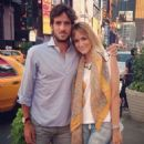 Alba Carrillo and Feliciano Lopez