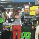 Dale Earnhardt Jr. and Amy Reimann