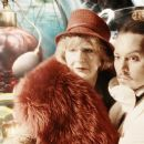 Left to Right: Maggie Steed as LV Woman, Johnny Depp as Imaginarium Tony #1. Photo taken by Liam Daniel, Courtesy of Sony Pictures Classics