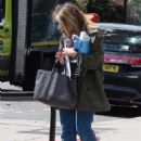 Rachel Stevens out in North London