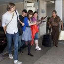 Zooey Deschanel Arrives At LAX Airport - July 31