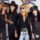 Motley Crue at the 1990 MTV Awards - 454 x 329
