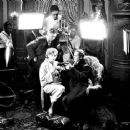 Greta Garbo with Lars Hanson during the filming of Flesh and The Devil, 1926. Hanson's first American film appearance with Garbo - 454 x 365