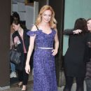 Heather Graham – Leaves the 'Today' show in NYC