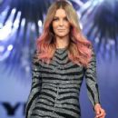 Jennifer Hawkins- MYER Spring-Summer 2014 Collection Fashion Show - 424 x 594