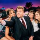 Halle Berry, Anjelica Huston and Allison Williams At The Late Late Show with James Corden (May 2019)