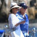 Catherine Zeta Jones on holiday in France - 454 x 699