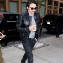 James Franco Grabs a Coffee in NYC - June 7, 2016 - 434 x 590