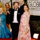 Will Kopelman and Drew Barrymore At The 71st Golden Globe Awards (2014)