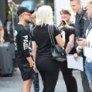 Bebe Rexha – Arrives at Capital Breakfast Show in London