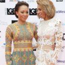 Melanie Brown and Phoenix Chi Gulzar – 2018 LGBT Awards in London - 454 x 665