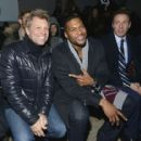 Jon Bon Jovi, Michael Strahan & Chris Cuomo attend the Kenneth Cole collection fashion show on February 10, 2014 in NYC - 454 x 417